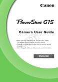 Canon PowerShot G15 - PowerShot G15 Camera User Guide