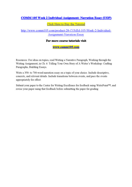 Sample Essay (800 words) - OWLL - Massey University