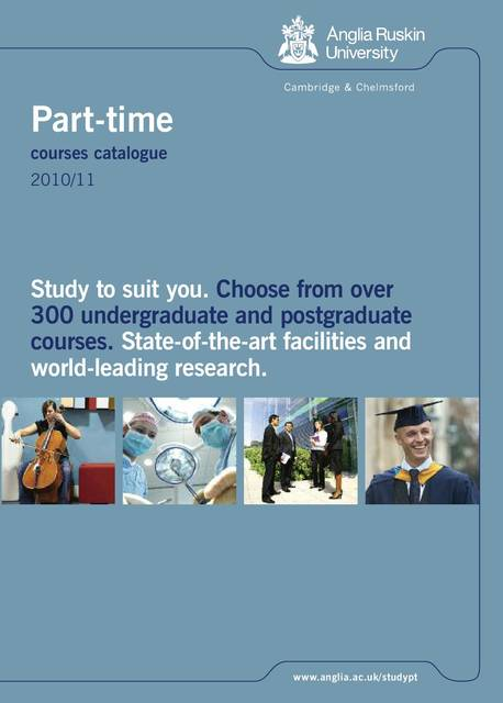 Study part-time Social Work at Anglia Ruskin University ...